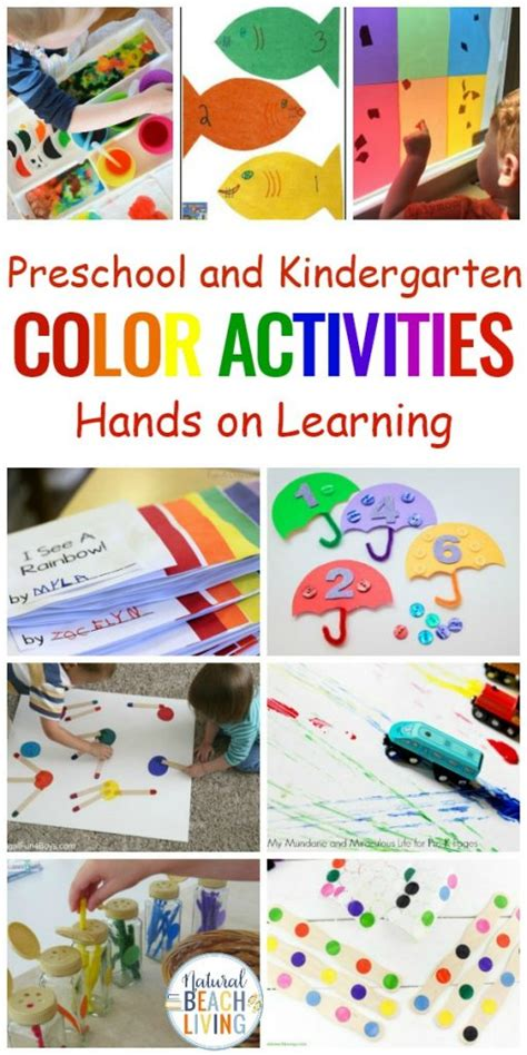 25 color learning activities for preschool 252 | Color activities preschool hands on learning 512x1024