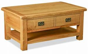 bask large coffee table with drawers frank mc gowan With large wooden coffee table with drawers
