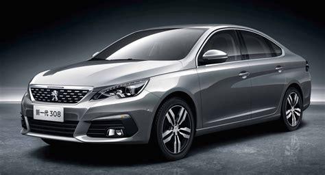 the latest peugeot car 2016 peugeot 308 sedan for china exterior revealed