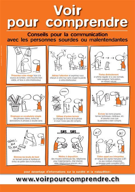 comment bien organiser bureau inpes informer les personnes sourdes ou malentendantes