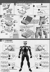 Mg Figurerise Kamen Rider Skull English Manual  U0026 Color