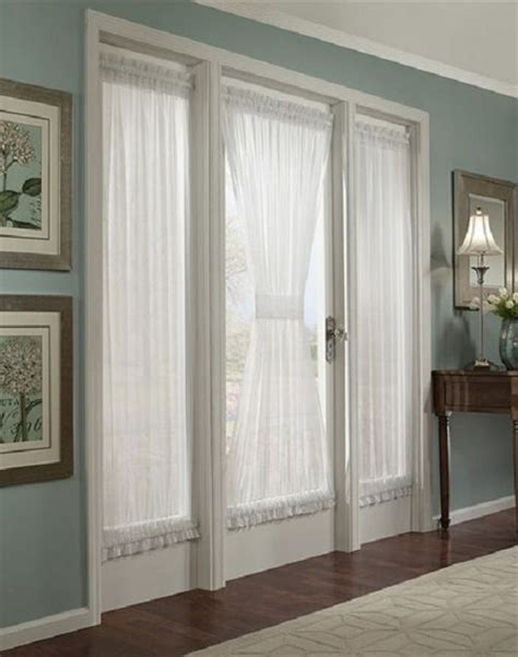 french door curtain rods home decor ideas pinterest