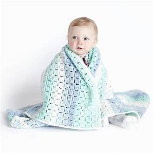 Caron Baby Cakes Crochet Blanket Project