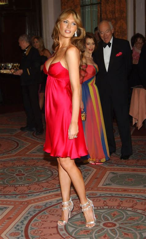 melania trump breast zimbio cancer foundation annual research party
