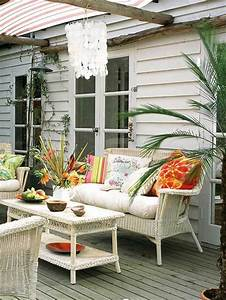 Meuble Pour Veranda : jolies variantes pas cher pour un meuble en bambou ~ Teatrodelosmanantiales.com Idées de Décoration