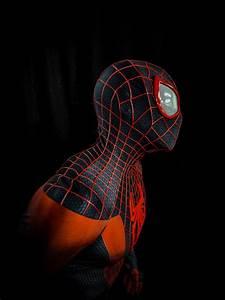 Panther Designs Free Miles Morales Spider Man Suit Premium Grade No Limit Designs