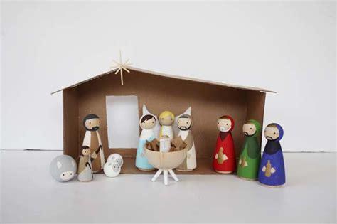 diy nativity scene diyideacentercom