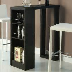 kitchen bar furniture kitchen fancy image of modern black dining room decoration using modern 3 tier glass small