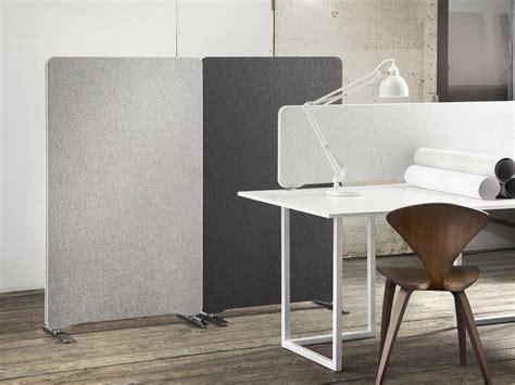 panneau bureau edge table screen by lintex