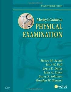 Mosby U0026 39 S Guide To Physical Examination  7e Amazon Books