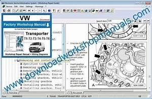 Vw Transporter T1  T2  T3  T4  T5  T6 Workshop Manual