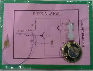 Fire Alarm Circuit Simple With Buzzer