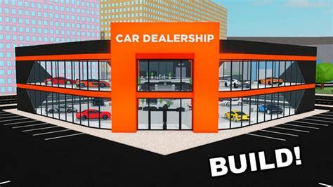 car dealership tycoon roblox