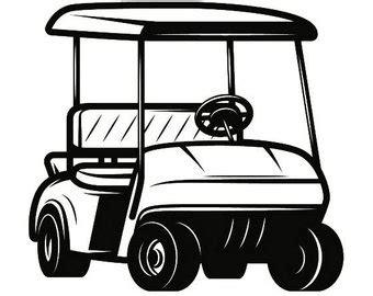 Golf Cart Clip Golf Clip Etsy