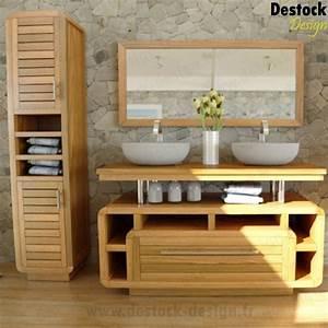 Meuble Rangement Salle De Bain : cdiscount meuble salle de bain maison design ~ Edinachiropracticcenter.com Idées de Décoration