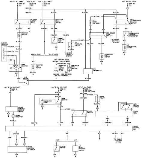 94 Sol Wiring Diagram by 95 Sol Fuse Diagram Schematics