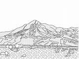 Desert Coloring Pages California Drawing Printable Scene Landscape Diorama Google Landscapes Template Rush Adult Mojave Missions Gold Sheets Nature Getdrawings sketch template