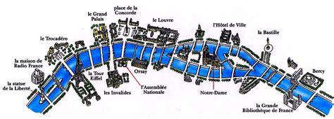 Bateau Mouche Facts by Seine River Map In Paris Seine River On France Map