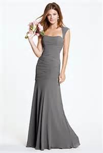 bridesmaid dresses gray gray bridesmaid dresses photos brides