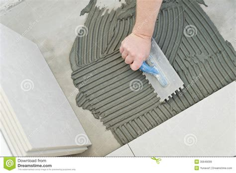laying ceramic tiles royalty free stock images image