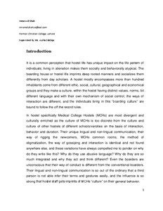 ethnography paper examples  simple steps  helping students write ethnographic papers