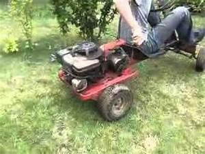 Karting A Moteur : d marrage kart tondeuse youtube ~ Melissatoandfro.com Idées de Décoration