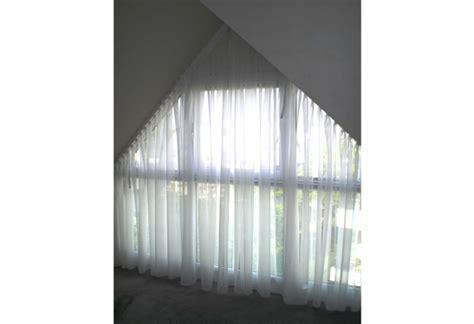 rideau classique voilage pour fen 234 tre triangulaire
