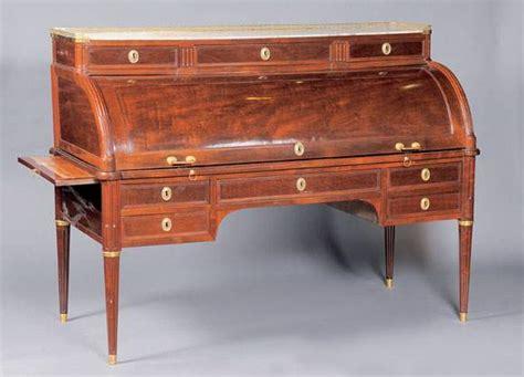 bureau cylindre authenticité estimation expert meubles tableaux