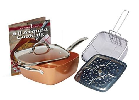 copper chef  xl cookware set  pc  healthy cooking source