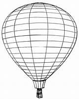 Balloon Air Coloring Printable sketch template