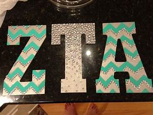 pics for gt zeta tau alpha letters With zta letters