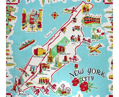 Maps of New York | Detailed map of New York city | Tourist ...