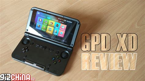 android gaming handheld gpd xd android gaming handheld review test