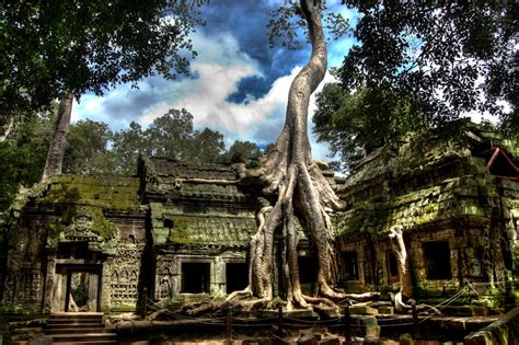 Visiting Angkor Wat Buddhist Temples In Cambodia