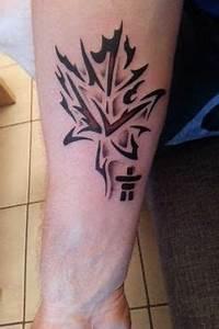 Tribal maple leaf 5 | Ink. | Pinterest | Tatoos and Tattoo