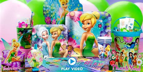 Tinkerbell Party Supplies Birthday Ideas