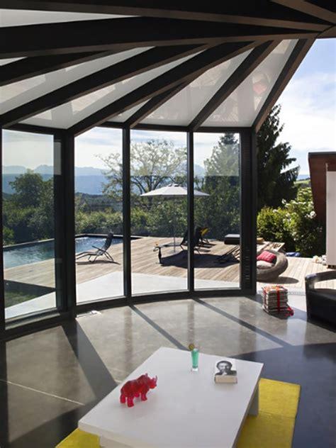 modern veranda designs modern glass veranda design by opensun