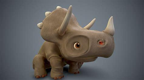 See more ideas about cartoon dinosaur, dinosaur, cartoon. 3D asset rigged Cartoon baby dino | CGTrader