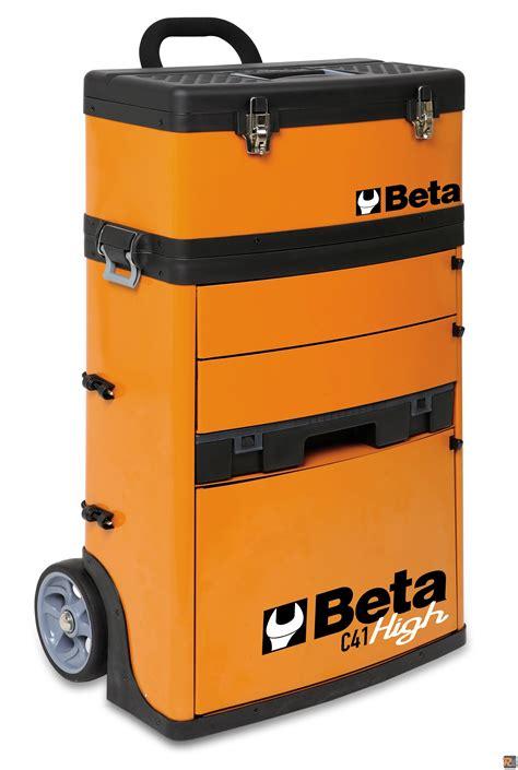 Lade Professionali by Beta Utensili Beta Trolley Portautensili A Due Moduli