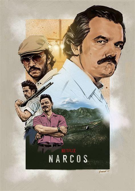 narcos alternative netflix poster hire  illustrator