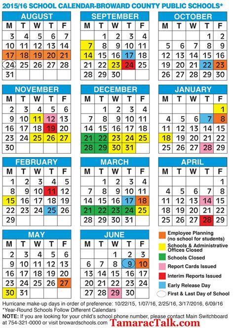 tamarac talk twitter broward county school calendar