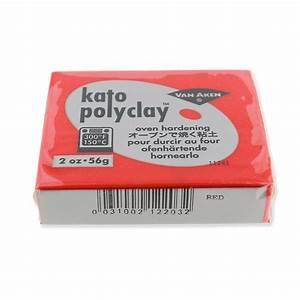 Pasta Polimerica Kato Polyclay 56 Gr Rosso  N U00b0203