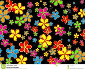 wallpaper designs retro flower wallpaper design royalty free stock photo image 21481695