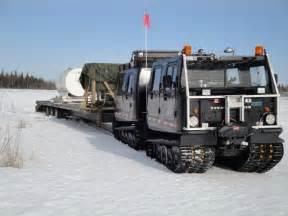 Arctic Tracked Snow Vehicles