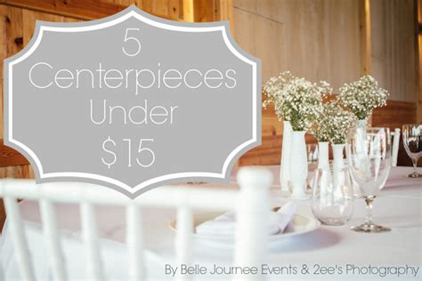 centerpieces    belle journee