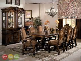 formal dining room sets neo renaissance formal dining room furniture set with optional china cabinet