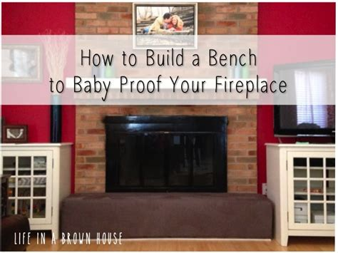 baby proof fireplace baby proofing the fireplace a brown house