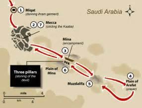 Mecca Hajj Route Maps