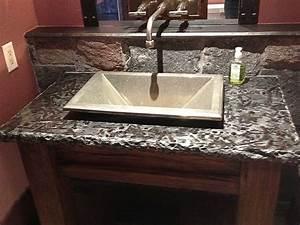 Granite Bathroom Vanity Tops | Silo Christmas Tree Farm
