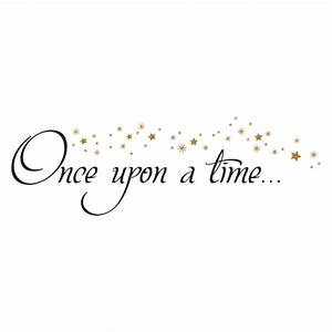 Once Upon A time Stars Wall Quotes™ Decal WallQuotes com